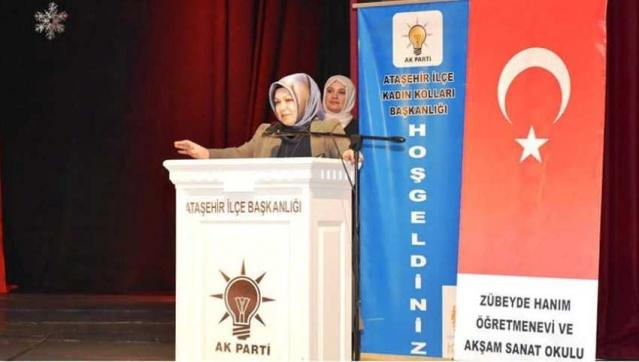 Ak Parti Ataşehir İlçe Kadın Kolları Başkanlığının Düzenlemiş Olduğu Şehitleri Anma Gecesi 2018