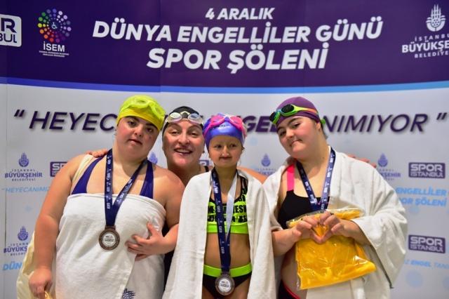 İBB'nin Düzenlediği Dünya Engelliler Günü Spor Şöleni 2019