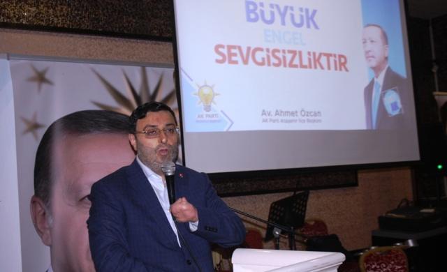 Ak Parti Ataşehir, Engelliler İftarı 2018
