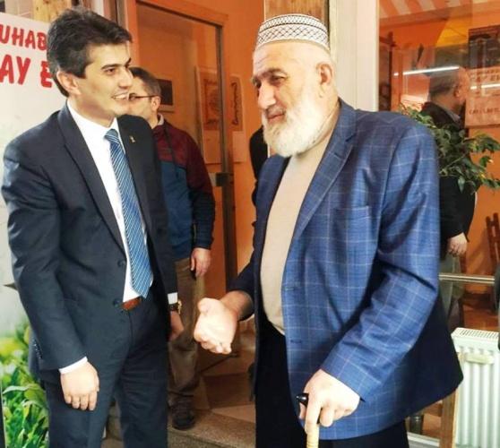 Ak Parti Ataşehir İlçe Başkanı Ahmet Özcan