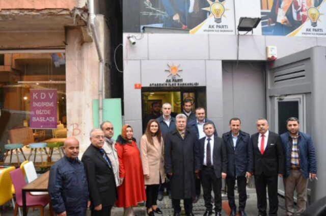 Ak Parti Çankırı Milletvekili Muhammet Emin AKBAŞOĞLU, Ak Parti Ataşehir İlçe Ziyareti