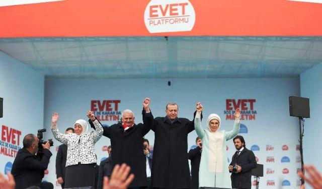 Ak Parti Yenikapı İstanbul Referandum Mitingi 2017