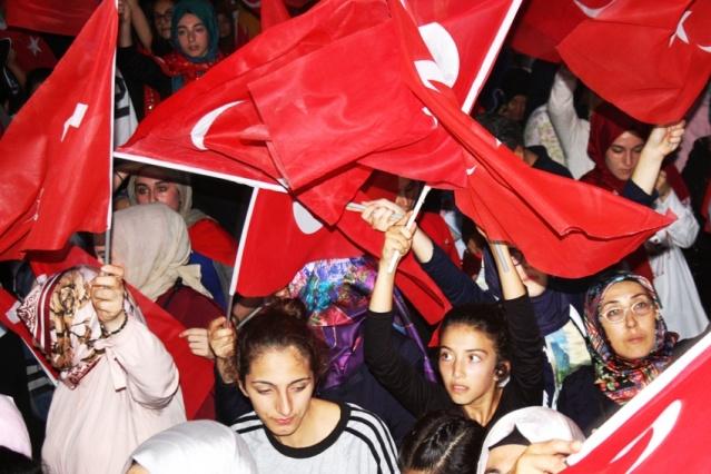 15 Temmuz Ataşehir Anma Etkinliği Fotoları 2017