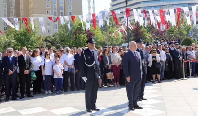 19 Mayıs Ataşehir'de Coşkuyla Kutlandı