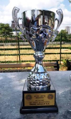 Ataşehir'de Şampiyon Kulüpler Kupalarını Aldı