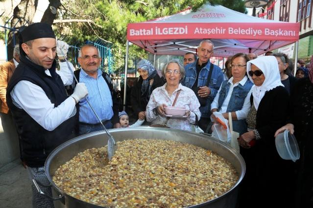 Ataşehir Belediyesi Aşure dağıtımı 2017