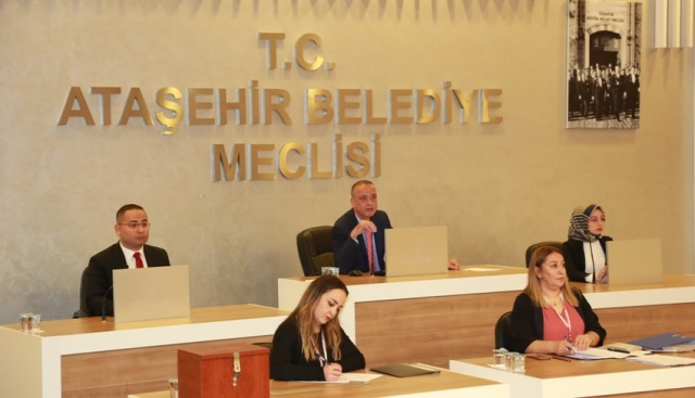 Ataşehir Belediye Meclisi 2019 Yeni Dönem Çalımasına Başladı