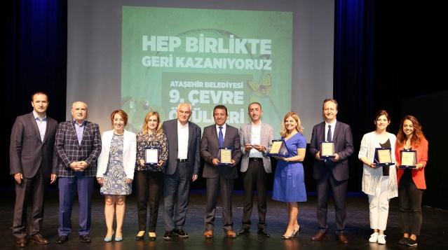 Ataşehir Okullar Arası Çevre Ödülleri Töreni 2018