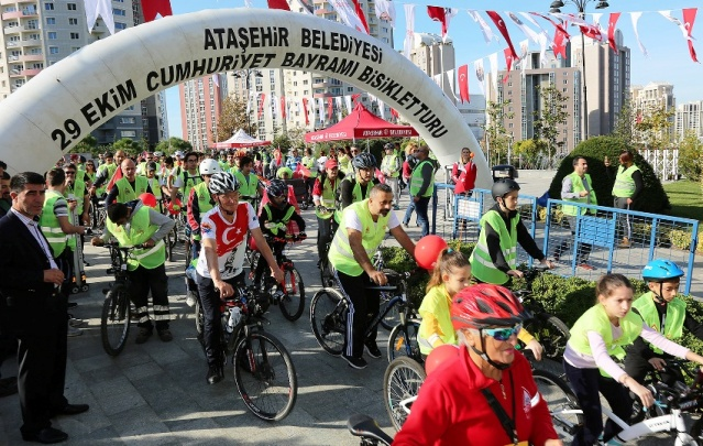 Cumhuriyet Bayramı, Ataşehir Bisiklet Şenliği 2018