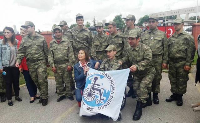 Ataşehir Engelliler Derneği, Engelli Askerlik Projesi 2018