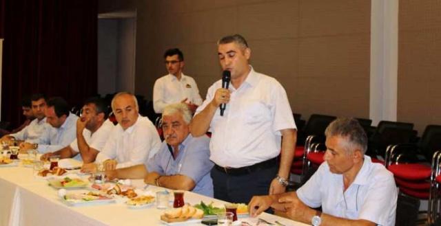 Ataşehir Kent Konseyi Muhtarlarla buluştu