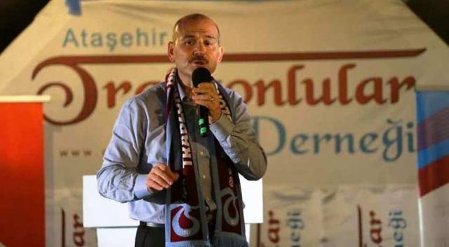 Süleyman Soylu, Ataşehir'de Trabzonlularla buluştu