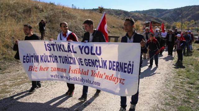 Çankırı Ilgaz İstiklal Yolu Yürüyüşü 2017