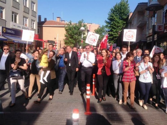 CHP Ataşehir Yürüyüşü 2015