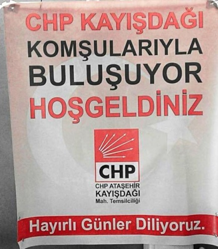 CHP Ataşehir, Komşularıyla Buluşuyor, 2017