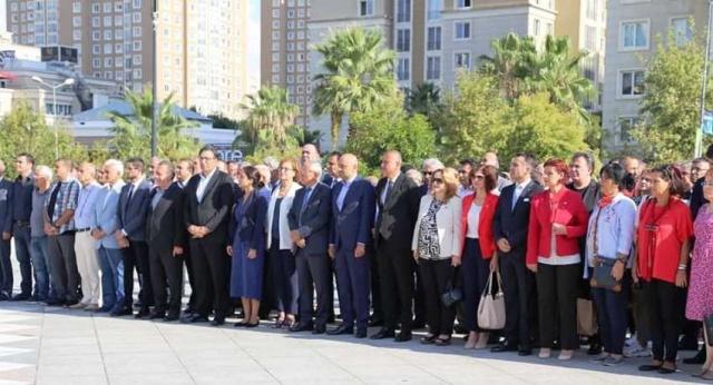 CHP kuruluş yıldönümü, Ataşehir Çelenk töreni 2019