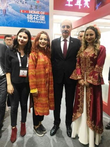 Türkiye, 14. Çin Turizm ve Gezi Fuarı'nda 2018