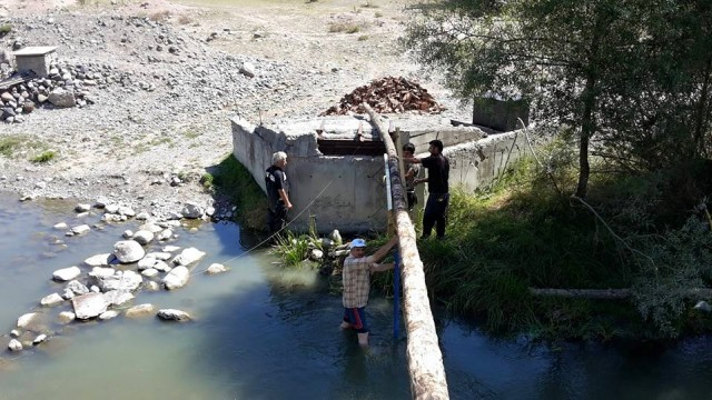 Çörekçiler Köyü Kağnı Çeçidi Köprü Yapımı 2015