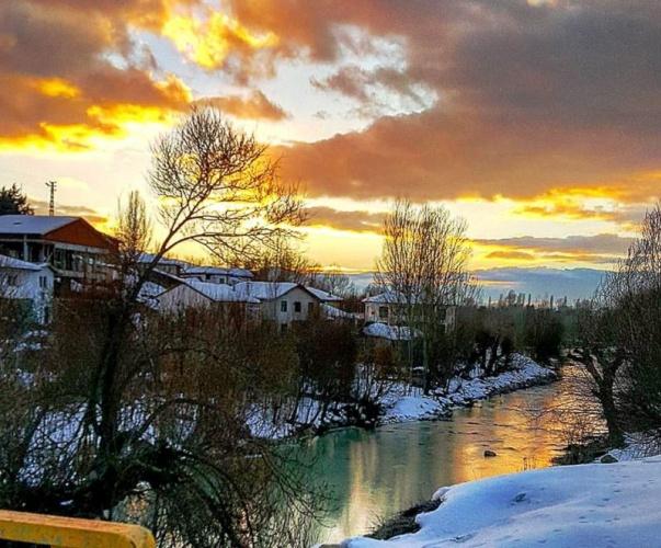 Çankırı, Ilgaz, Çörekçiler Köyü Kış Manzaraları 2017