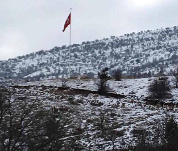 Çankırı, Ilgaz, Çörekçiler Köyü Kış Manzaraları 2016