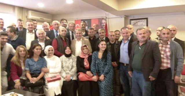 Erol Tepebaşı CHP Ataşehir Belediye Meclis üyeliği aday adaylığı başvurusu yaptı 2018