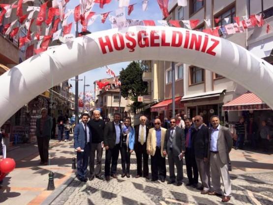 Gamze Akkuş İlgezdi Şile CHP Milletvekili Seçim Çalışması 2015