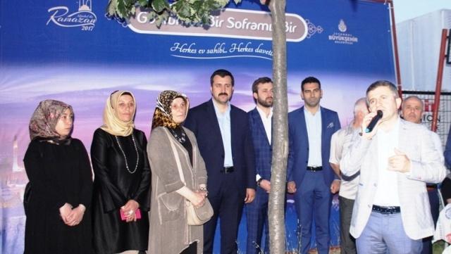 İBB, Ak Parti Ataşehir Yenisahra ve Barbaros Mahallesi Sokak İftarı 2017