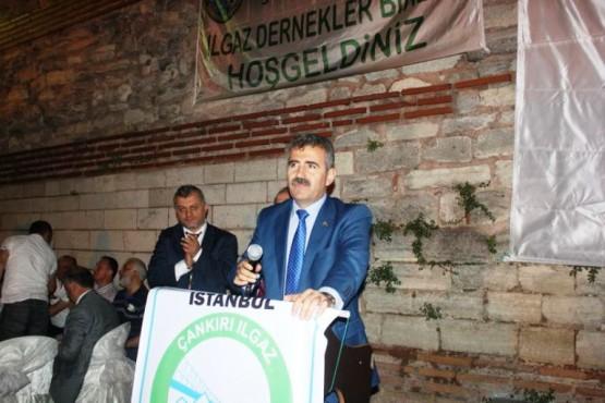 İstanbul, Çankırı, Ilgaz Dernekler Birliği İftarı, 2015