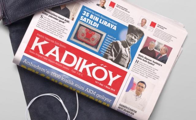Kadıköy Gazetesi Yayın Hayatına Başladı, 2018