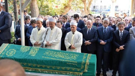 Kadir Topbaş, Saadet Eres Cenaze Fotoları