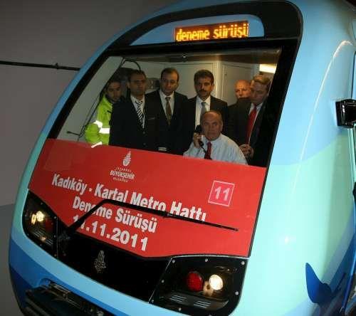 Kadıköy Pendik Metro Açılışı