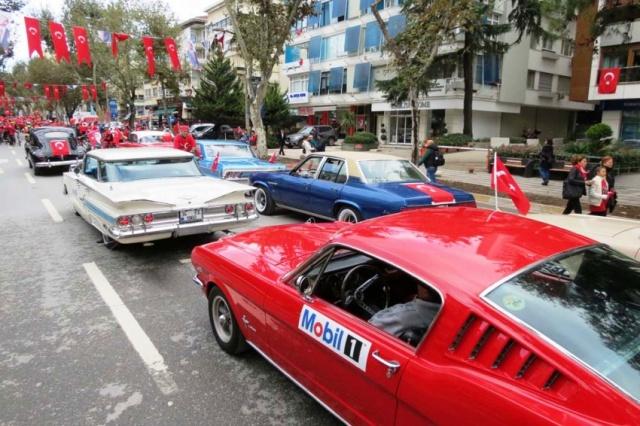 Klasik Otomobiller Cumhuriyet Bayramı Etkinliği, 2017