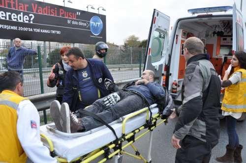 Motosiklet Kazası, Fenerbahçe
