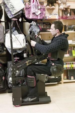 Engellileri özgürleştiren robot Tek RMC Robotik mo