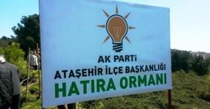 Ak Parti Ataşehir Ağaç Dikme Etkinliği 2016