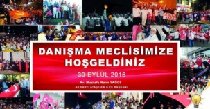 Ak Parti Ataşehir Danışm Mwclisi Toplantısı 2016