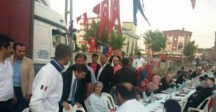 Ak Parti Ataşehir Ferhatpaşa Sokak İftarı 2015