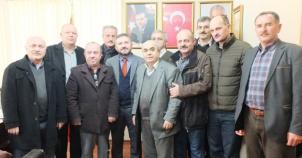 Yenisahra Eğitim Kültür Derneği Ataşehir Belediye ve Siyasi Parti Ziyaretleri