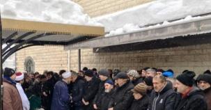 Ali Sancaktaroğlu Cenaze Namazı Yenisahra 2017