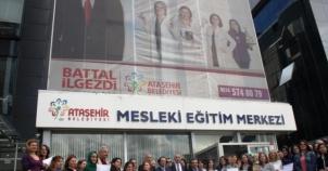 ATAMEM, ataşehir Belediyesi, Meslek Eğitim Merkezi Kursiyerleri, Sertifikalarını aldı