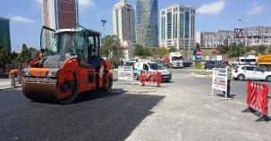 Ataşehir Belediyesi Fen İşleri Asfalt Çalışmaları 2016