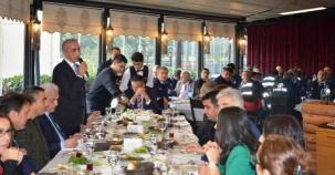 Ataşehir Belediyesi Birim Müdürleri Kahvaltı Proğramı 2016