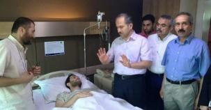 Ataşehir Kaymakamı, Zafer KARAMEHMETOĞLU, Demokrasi Gazilerini Ziyaret etti