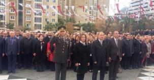 Ataşehir, 10 Kasım Atatürk'ü Anma Töreni 2016
