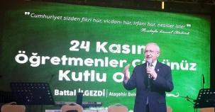 Ataşehir Öğretmenler Günü Etkinliği, Kemal Kılıcdaroğlu, 2016