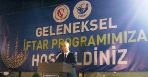 Çankırı Vakfı, ÇANDEF. İstanbul Çankırı Dernekler Birliği İftar Yemği 2016