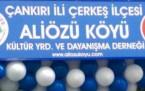 Çankırı, Çerkeç, Alözü Köyü Dernek Açılışı 2015