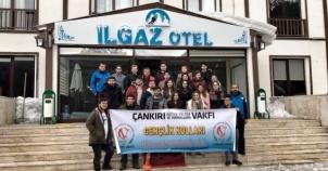 Çankırı Eğitim Kültür Vakfı, Bursiyerleri, Ilgaz Kayak Merkezi gezisi 2017