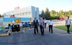 Çankırı Valisi Stad yapımını Denetledi