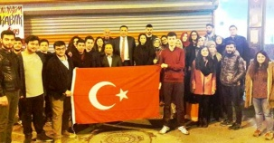 Çankırılı Üniversiteli  Öğrenciler Çanakkale Gezisi, Abdullah Der, 2017